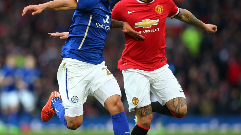 Manchester United 3, Leicester City 1