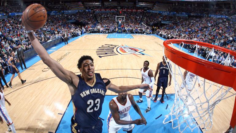 Anthony Davis leads Pelicans past Thunder with walk-off three-pointer
