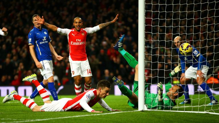 Arsenal 2, Leicester City 1