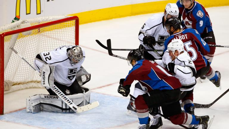 Kings 4, Avalanche 1