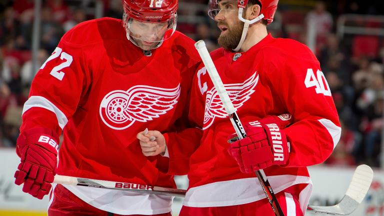 Red Wings 2, Rangers 1
