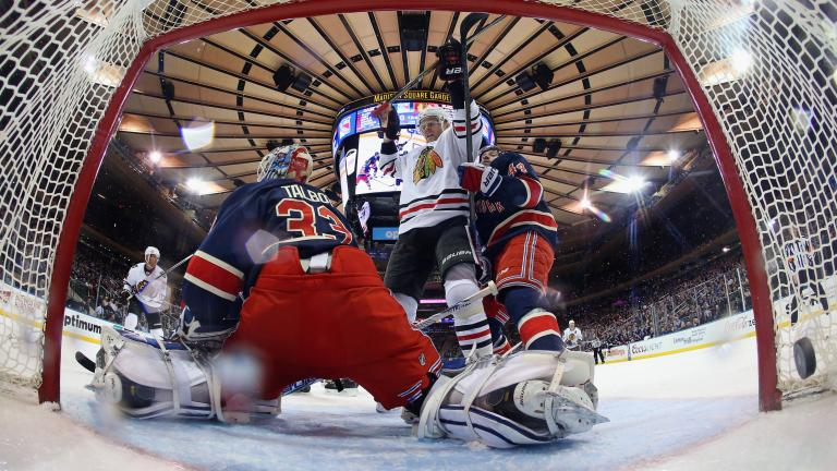 Blackhawks 1, Rangers 0