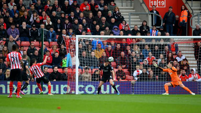 Southampton 2, Burnley 0