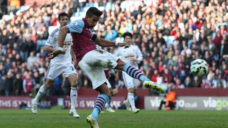 Swansea City 1, Aston Villa 0
