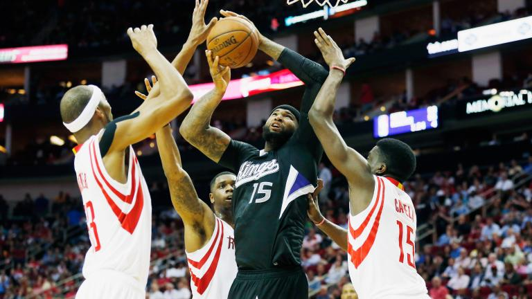 DeMarcus Cousins dominates as Kings fall to Rockets