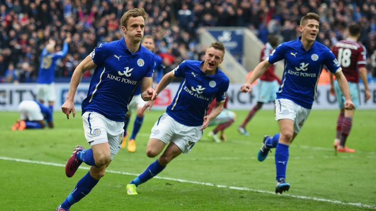 Leicester City 2, West Ham United 1