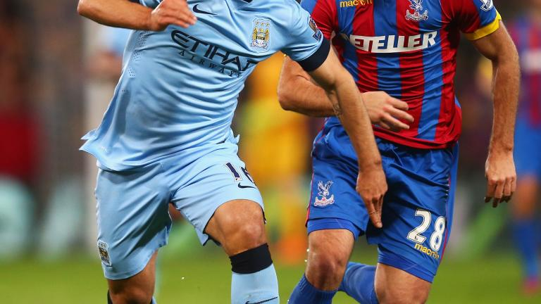 Crystal Palace 2, Manchester City 1