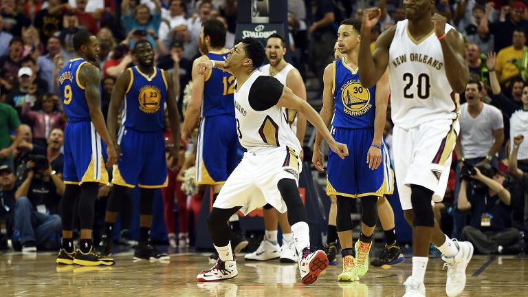 Pelicans score big win in race for 8 seed, beat Warriors