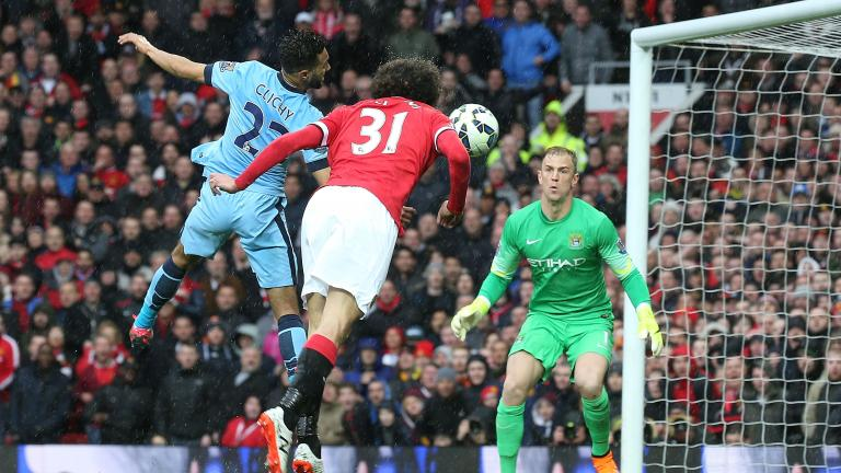Manchester United 4, Manchester City 1