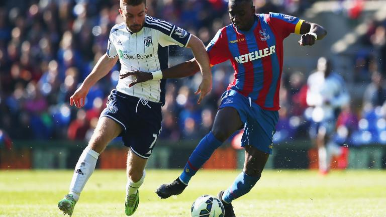 West Bromwich Albion 2, Crystal Palace 0