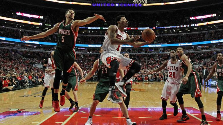 Derrick Rose leads Bulls to Game 1 win over Bucks