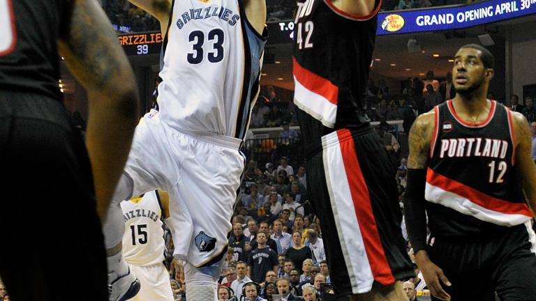 Marc Gasol, Grizzlies protect home court against Trail Blazers