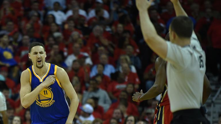 Warriors come back from 20 points down to top Pelicans in overtime