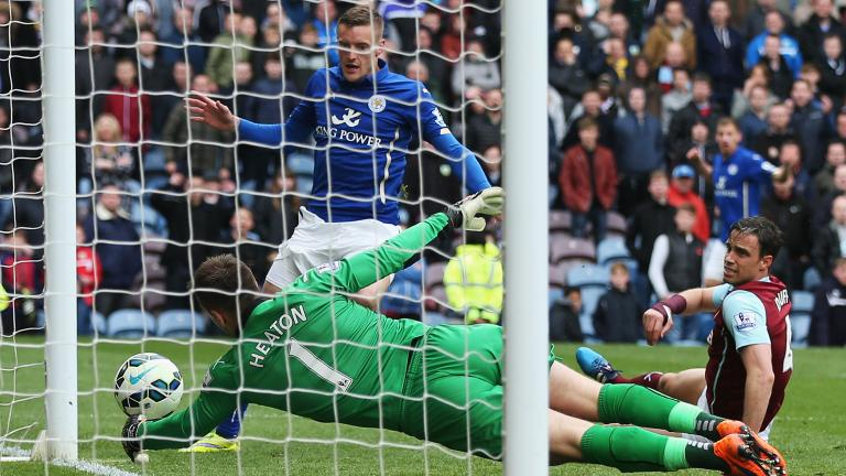 Leicester City 1, Burnley 0