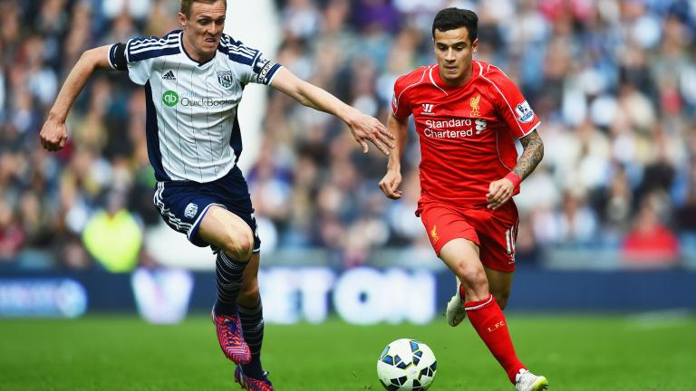 Liverpool 0, West Bromwich Albion 0