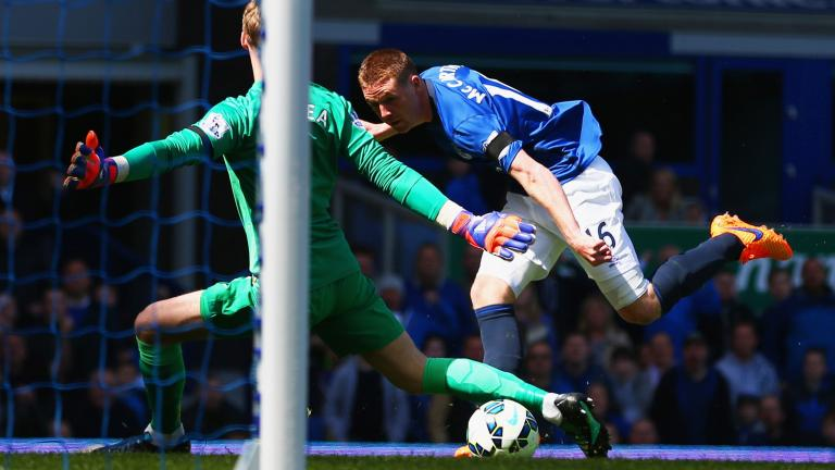 Everton 3, Manchester United 0