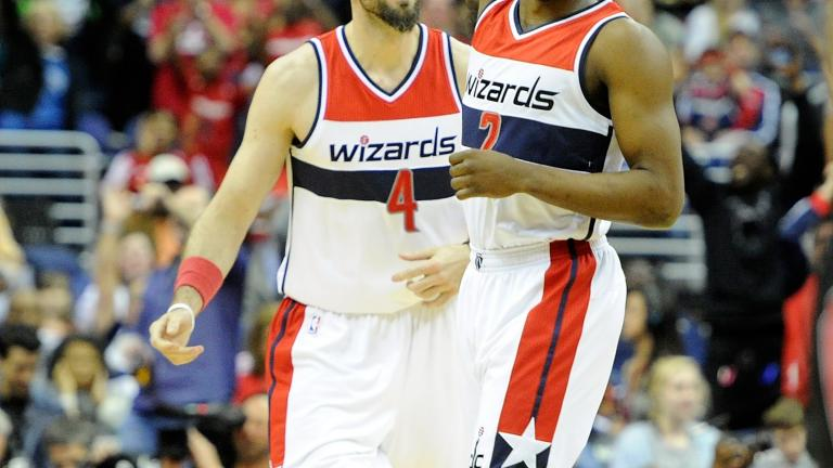 Wizards blowout Raptors in series-clinching win