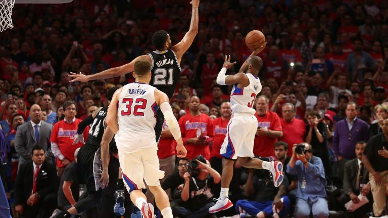 Chris Paul leads Clippers past Spurs in Game 7