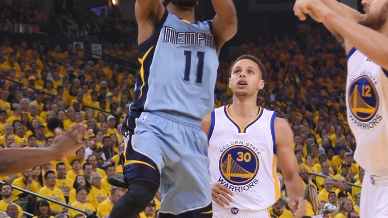 Grizzlies take home-court advantage as Mike Conley returns