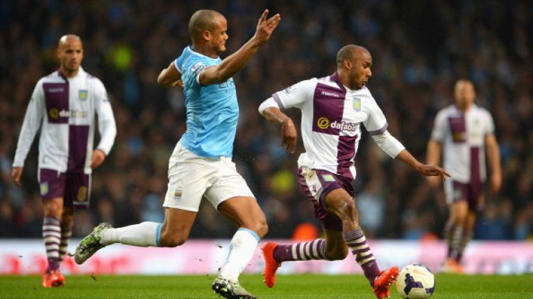Manchester City 4, Aston Villa 0