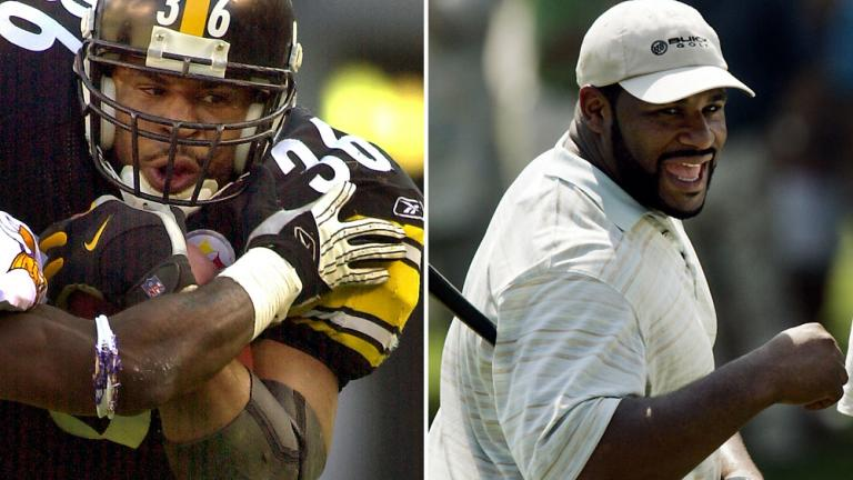 "<div align=""center""><span style=""font-size: 16pt;"">Jerome Bettis</span> <br/> <span style=""font-size: 13pt;"">Former NFL All-Pro RB: Pittsburgh Steelers</span></div>"