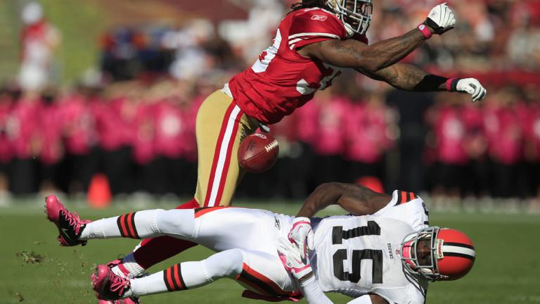49ers 20, Browns 10
