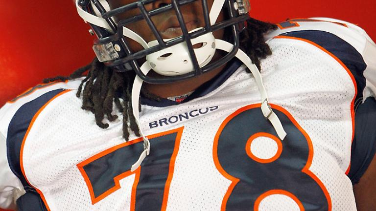 Offensive tackle: <br>Ryan Clady