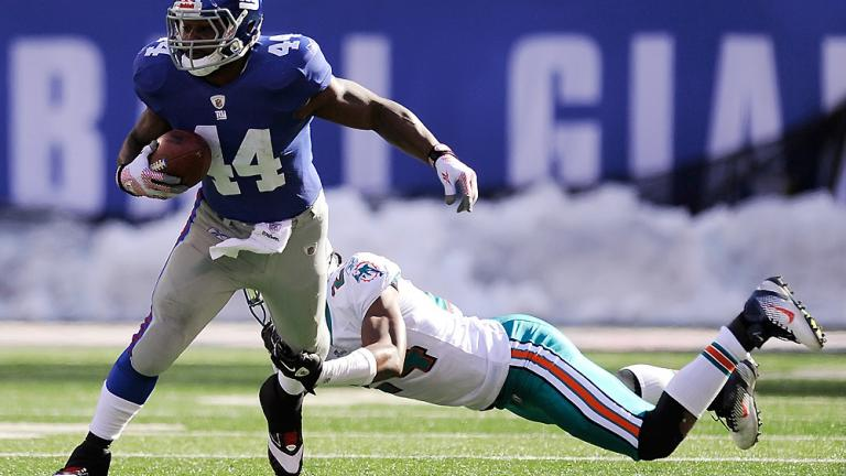 Giants 20, Dolphins 17