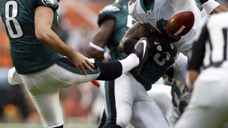 Eagles 26, Dolphins 10