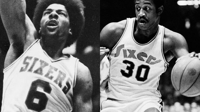 Julius Erving vs. George McGinnis