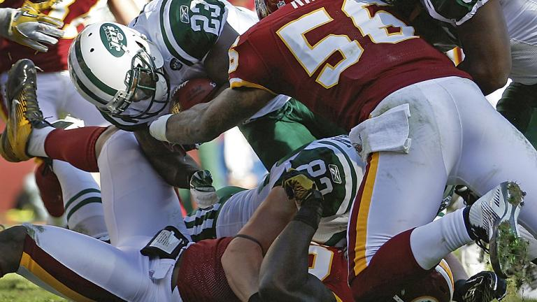 Jets 34, Redskins 19