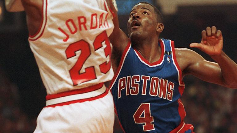 Michael Jordan vs. Joe Dumars