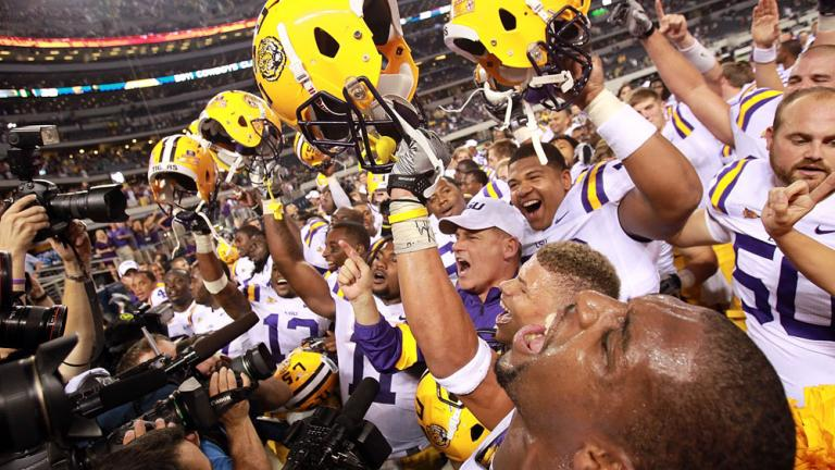 No. 1 LSU 38, Tennessee 7