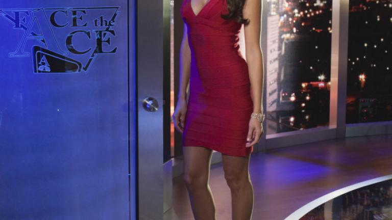 Hostess of NBC's 'Face the Ace'