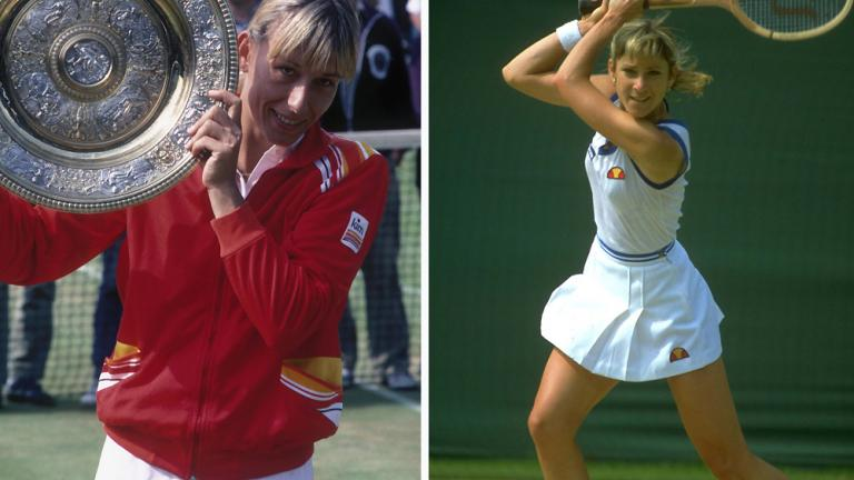 1982: Martina Navratilova def. Chris Evert 6-1, 3-6, 6-2