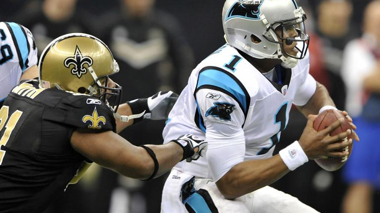 Saints 45, Panthers 17
