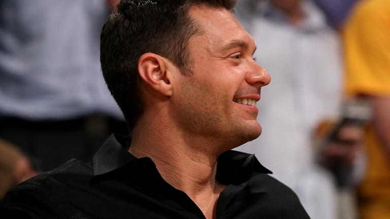 Seacrest out... in L.A.