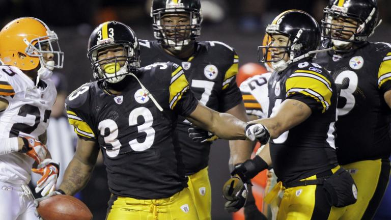 Steelers 13, Browns 9