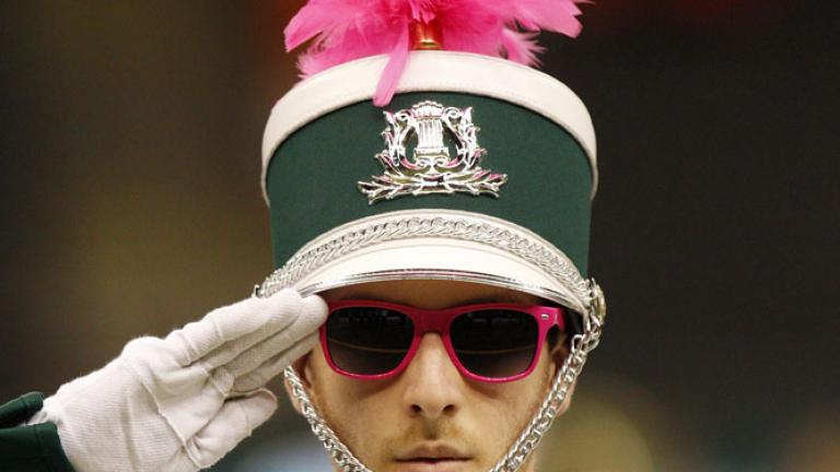 Salute to breast cancer