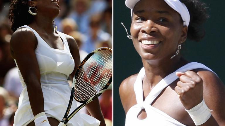 2008: Venus Williams def. Serena Williams 7-5, 6-4.