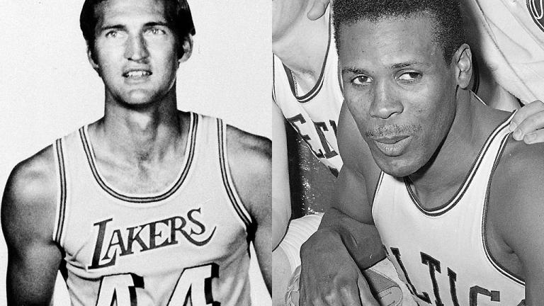 Jerry West vs. K.C. Jones