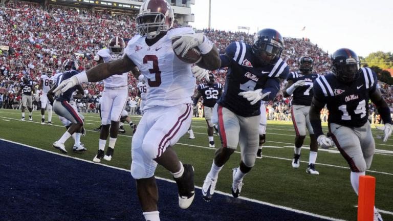 No. 2 Alabama 52, Mississippi 7