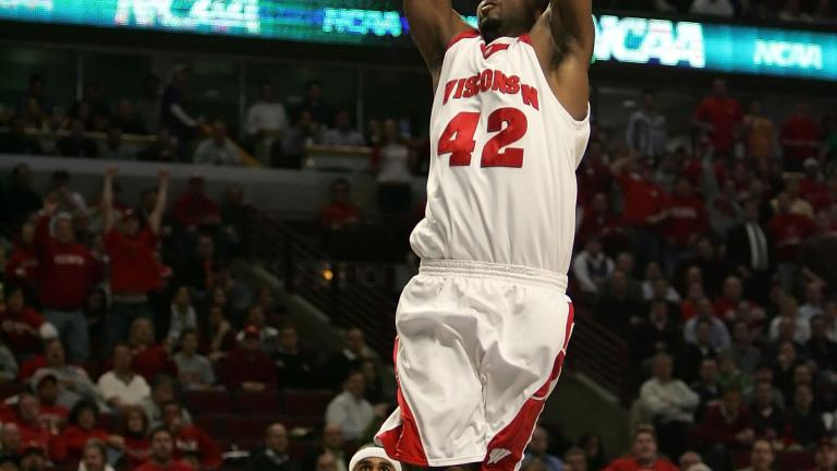 Alando Tucker, Wisconsin Badgers, 2002-07
