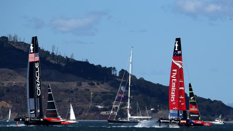 Oracle Team USA pulls of stunning America's Cup win