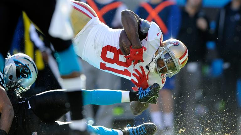 NFC divisional round: 49ers 23, Panthers 10