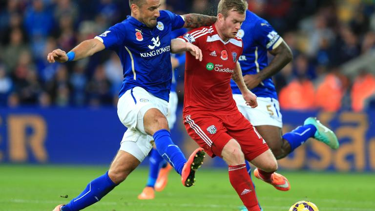 West Bromwich Albion 1, Leicester City 0