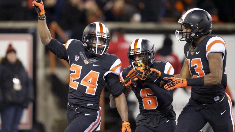 Oregon State 35, (6) Arizona State 27
