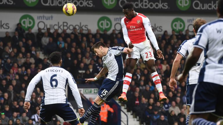 Arsenal 1, West Bromwich Albion 0