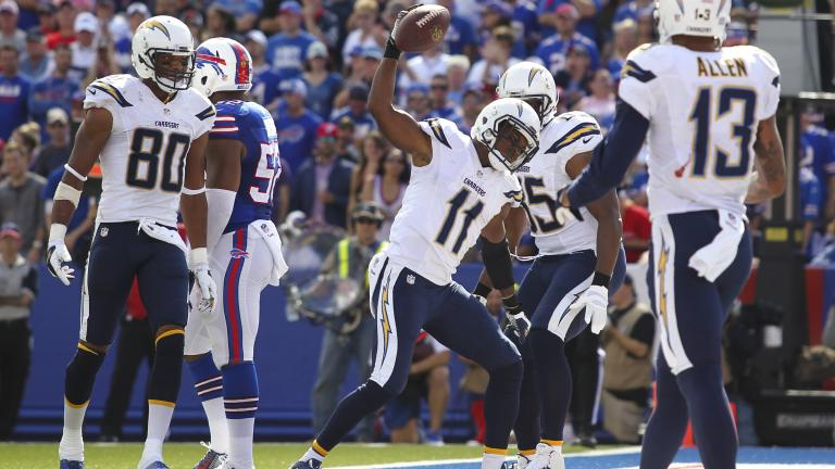 Chargers 2, Bills 10