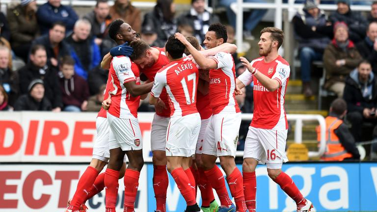 Arsenal 2, Newcastle United 1